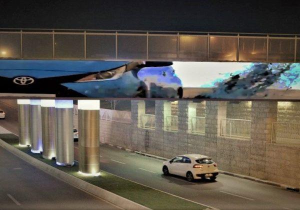 שלטי חוצות – גשר נהריה