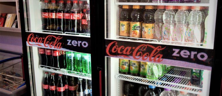 מסך לד טיקר עבור חברת קוקה קולה